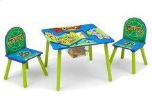 Teenage Mutant Ninja Turtles Table & Chair Set with Storage - Style 1