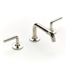 Widespread Lavatory Faucet Taos Series 17 Polished Nickel