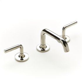 Widespread Lavatory Faucet Taos (series 17) Polished Nickel