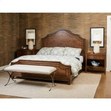 Thoroughbred Manor Panel Bed - Toast / Queen