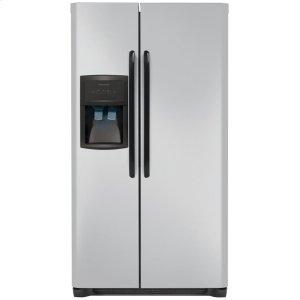 22.6 Cu. Ft. Side-by-Side Refrigerator - SILVER MIST