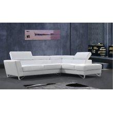 Divani Casa Waltz - Modern Leather Sectional Sofa