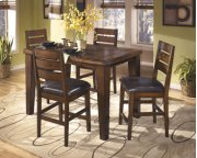 DRM Counter Butterfly EXT TBL with 6 Barstools Product Image