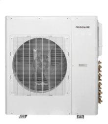 Ductless Split Air Conditioner with Heat Pump, 34,400btu 208/230volt