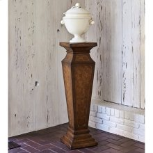 Leather Pedestal
