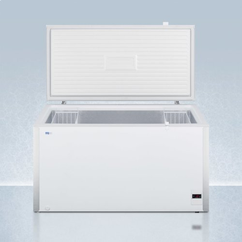 Commercially Listed 17 CU.FT. Frost-free Chest Refrigerator In White With Digital Thermostat for General Purpose Applications; ; Replaces Scfr150