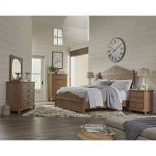 Madison - Three Drawer Nightstand - Caramel Finish
