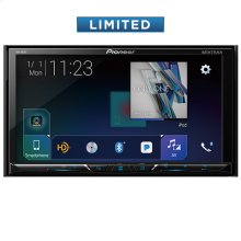 """Multimedia DVD Receiver with 7"""" WVGA Display, Built-in Bluetooth®, HD Radio """" Tuner, SiriusXM-Ready """" and AppRadio Mode + and Remote Control Included and two camera inputs"""