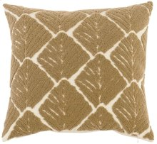 "Luxe Pillows Organic Leaf (22"" x 22"")"