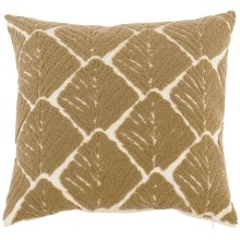 """Luxe Pillows Organic Leaf (22"""" x 22"""")"""
