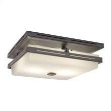 InVent Series Single-Speed 110 CFM, 1.5 Sones Decorative Fan Light in Oil-Rubbed Bronze Finish
