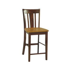 JOHN THOMAS FURNITURESan Remo Stool in Cinnamon & Espresso