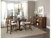 Intercon Dining Room Luciano Pedestal Gathering Base