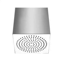 """Square SEGNI ceiling-mounted shower head 1/2"""" connections Projection from ceiling 10-5/8' Max flow rate 2"""