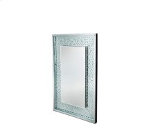 Montreal Rect Wall Crystal Mirror W/O L E D Lights