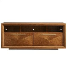 Panavista Panorama Media Console in Goldenrod