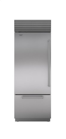 """30"""" Built-In Over-and-Under Refrigerator/Freezer"""