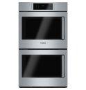 30' Double Wall Oven Left Swing Door Benchmark® Series - Stainless Steel