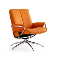 Stressless City chair low back high base