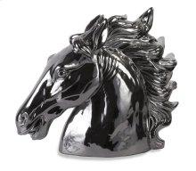 Silver Stallion Bust
