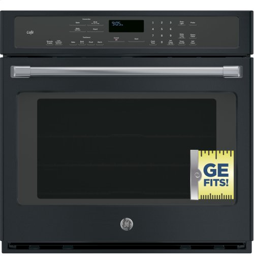 """GE Café Series 30"""" Built-In Single Convection Wall Oven"""