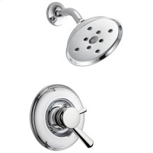 Chrome Monitor ® 17 Series Traditional H2Okinetic ® Shower Trim