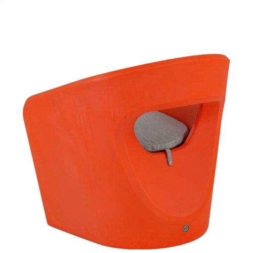 Radius Lounge Chair with Seat Pad