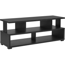"""Morristown Collection 47.25""""W TV Stand in Espresso Wood Finish"""