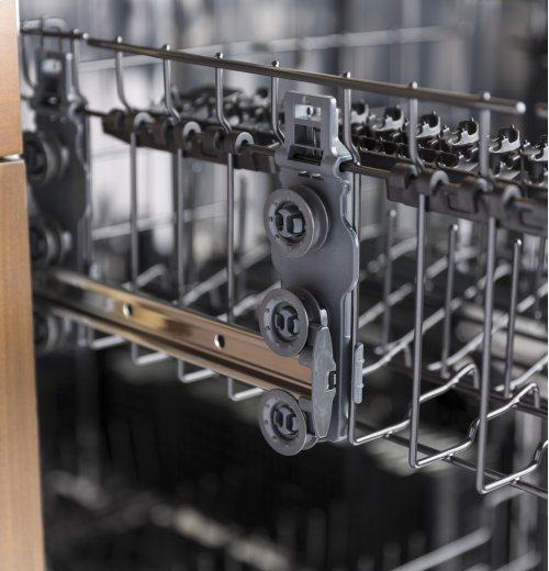 GE® Stainless Steel Interior Dishwasher with Front Controls