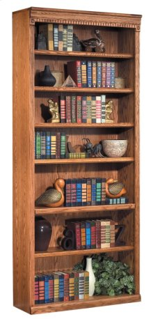 "84"" Open Bookcase"