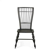 Cassidy Windsor Side Chair Charred Oak finish