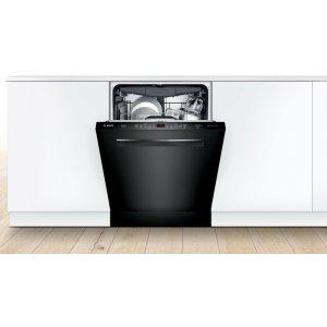 Bosch500 Series Dishwasher 24'' Black
