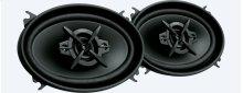 """4 x 6"""" (10 x 15 cm) 4-way speakers"""
