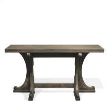 Juniper Gateleg Sofa Table Charcoal finish