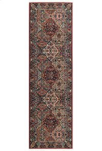 Multicolor Panel Kirman - Runner 2ft 6in x 12ft Product Image