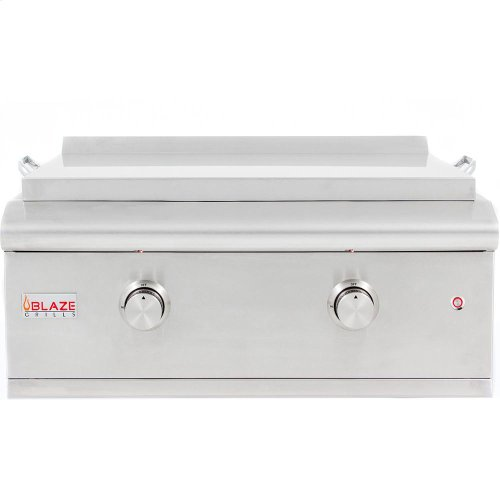 Blaze 30-Inch Built-in Gas Griddle LTE, With Fuel Type - Natural Gas