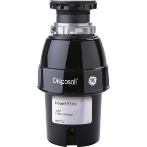 GEGE® 1/2 HP Continuous Feed Garbage Disposer Non-Corded