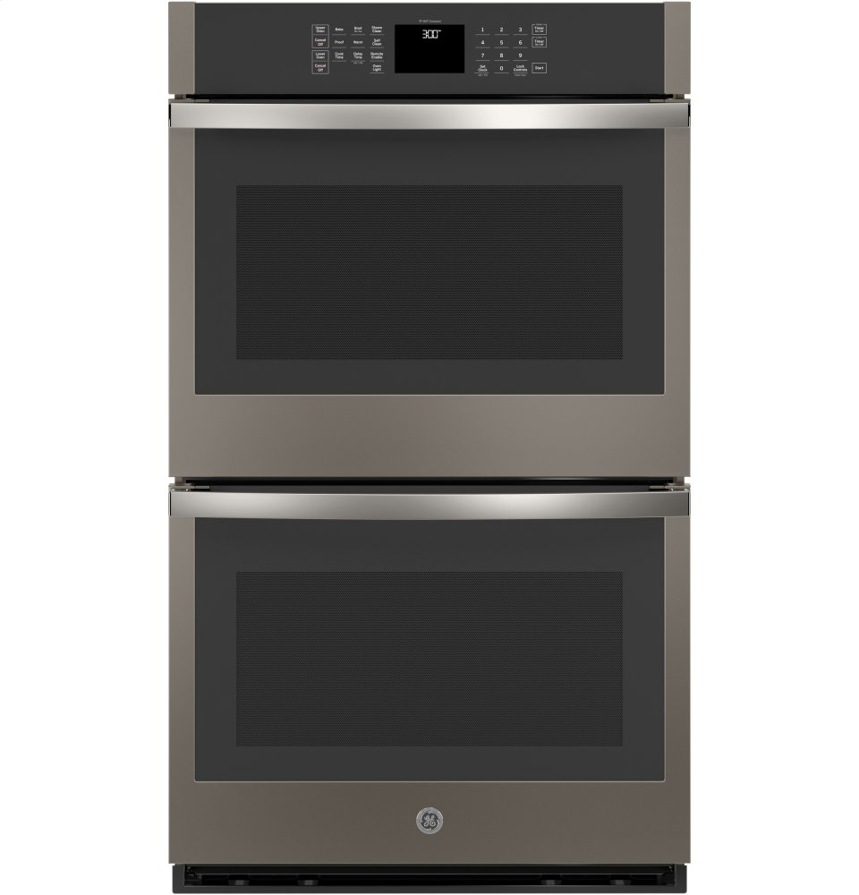 """GE(R) 30"""" Built-In Double Wall Oven  SLATE"""