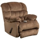 Massaging Sharpei Espresso Microfiber Rocker Recliner with Heat Control Product Image