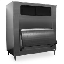 "60"" W High Capacity Ice Storage Bin - Stainless Steel Exterior"