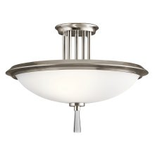 Dreyfus Collection Dreyfus 3 Light Semi Flush CLP