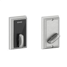 Schlage Control Smart Deadbolt with Addison trim - Satin Chrome