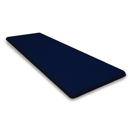"""Navy Seat Cushion - 18.5""""D x 55.5""""W x 2.5""""H"""