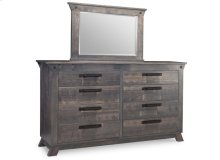 Algoma 8 Drawer Long High Dresser