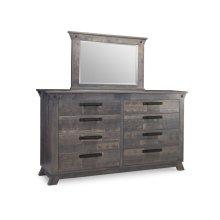 Algoma 8 Drawer Long High Dresser