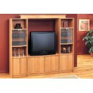 "TV STAND - MAPLE HOME THEATER TV STAND / 36""TV Product Image"