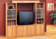 "TV STAND - MAPLE HOME THEATER TV STAND / 36""TV"