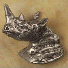 Rhino Head Facing Left