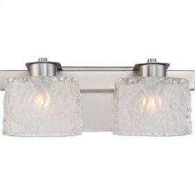 Seaview Bath Light in Brushed Nickel