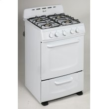 "24"" Freestanding Gas Range"